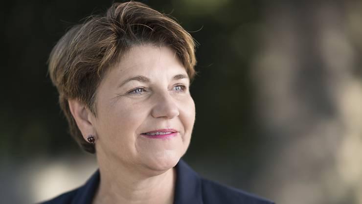 Die Walliser CVP-Nationalrätin Viola Amherd steigt ins Rennen um einen Bundesratssitz.