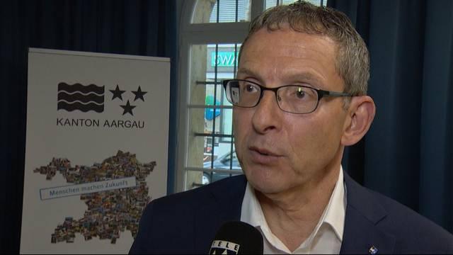 Volkswirtschaftsdirektor Urs Hofmann: «Ein Ausfall von über 30 Millionen Franken wäre schwer zu verkraften gewesen»