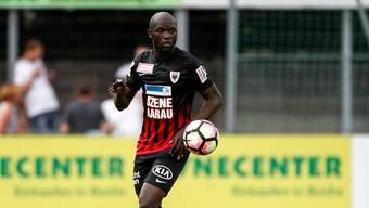 Igor Nganga verlässt den FC Aarau - dieses Mal wohl definitiv.