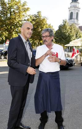 Alain Berset, Roberto Zanetti
