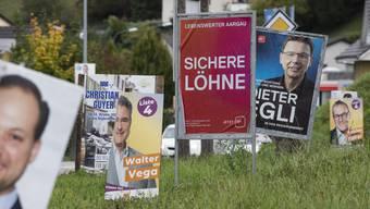 Der 140-köpfige Aargauer Grosse Rat ist am Sonntag grüner geworden.