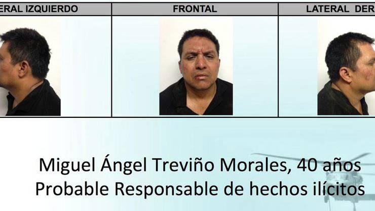 Miguel Trenvino Morales wurde offenbar verhaftet- Trevino ist der Kopf einer der brutalsten Drogenbanden Mexikos. Ihre Opfer hinterliessen sie oft zerstückelt oder geköpft.