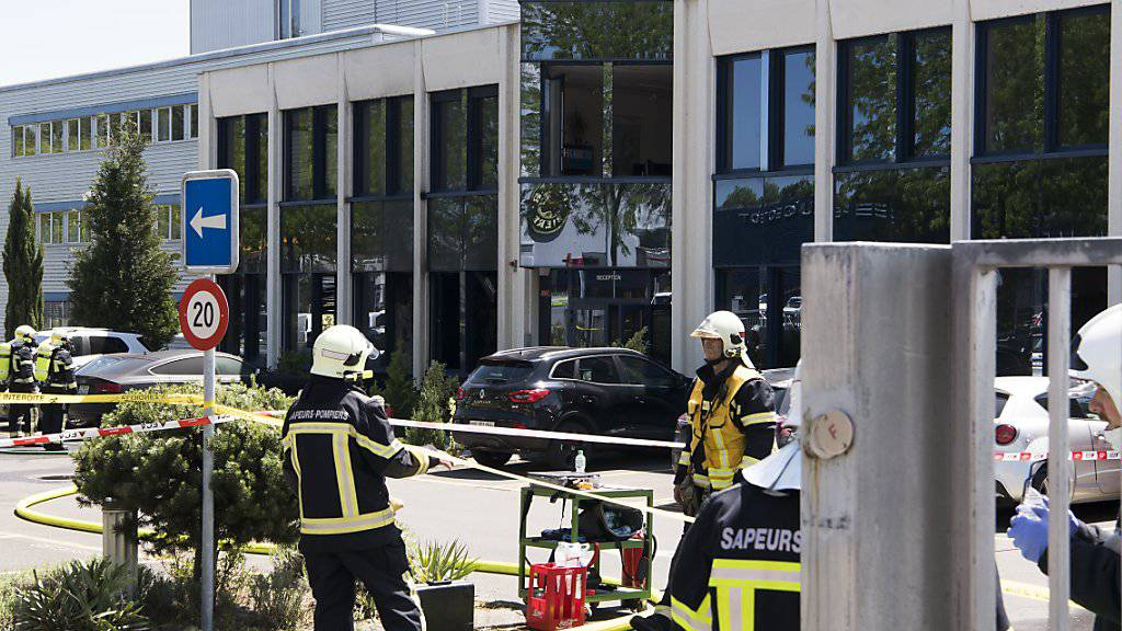 Explosion bei Batteriehersteller in Yverdon-les-Bains VD