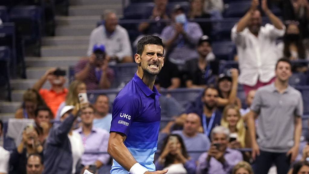 Novak Djokovic spielt sich am US Open in Form.