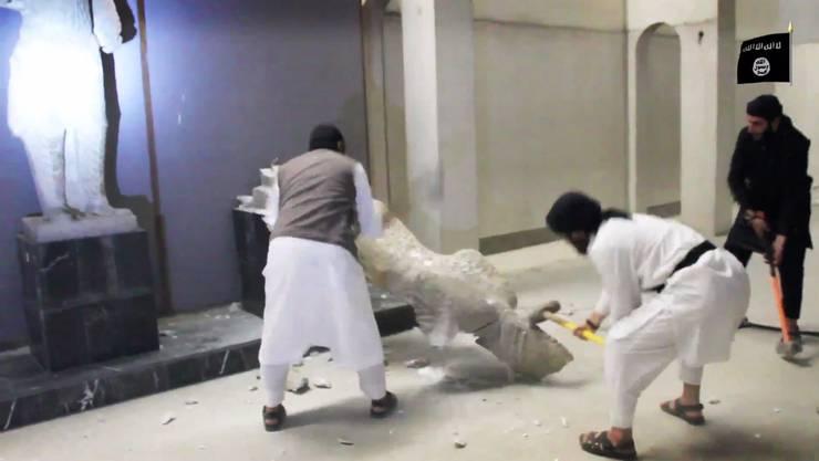 Die IS-Terrormiliz hat im Norden des Iraks einzigartige Kulturgüter aus altorientalischer Zeit zerstört.