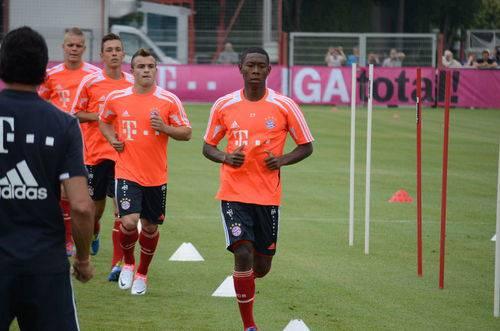Shaqiri im Bayern-Training