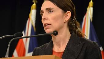 """""""Er wird, wenn ich spreche, namenlos sein"""": Neuseelands Premierministerin Jacinda Ardern verzichtet auf Nennung des Namens des Moscheen-Attentäters von Christchurch. (Archivbild)"""