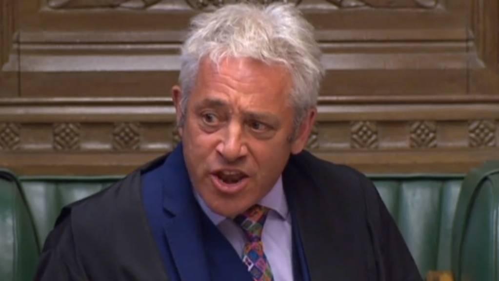 John Bercow, der Präsident des britischen Unterhauses hat die beantragte Dringlichkeitsdebatte über einen No-Deal-Brexit zugelassen.