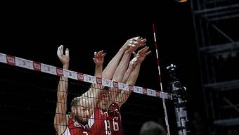 Blockten die italienischen Angriffe: Russlands Volleyballer