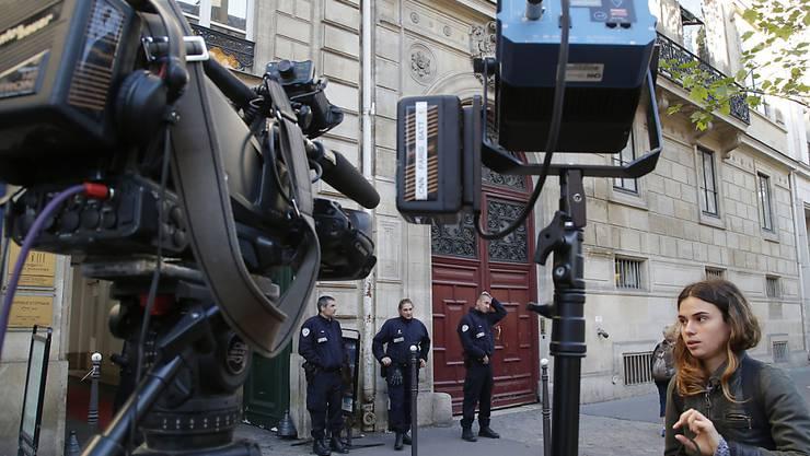 In dieser Luxusresidenz in Paris wurde der amerikanische Reality-TV-Star Kim Kardashian 2016 überfallen. Die Diebe liessen Schmuck im Wert von neun Millionen Euro mitgehen. (Archivbild)