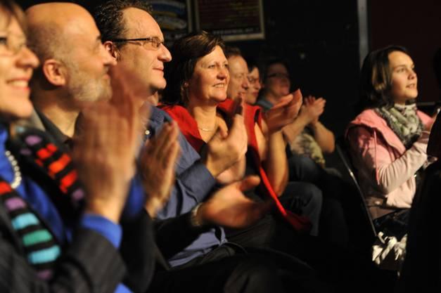 Das Publikum zeigte sich begeistert, ob dem vielfältigen Programm.