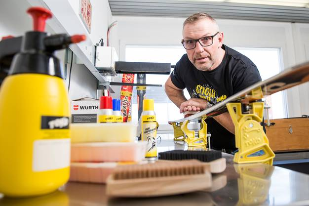 Udo Raunjak, Chefchemiker von Toko in Altstätten.