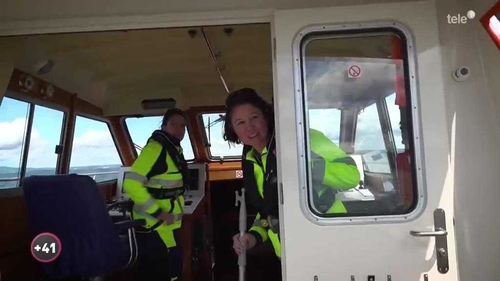 Seeretter auf dem Bodensee haben jede Menge zu tun