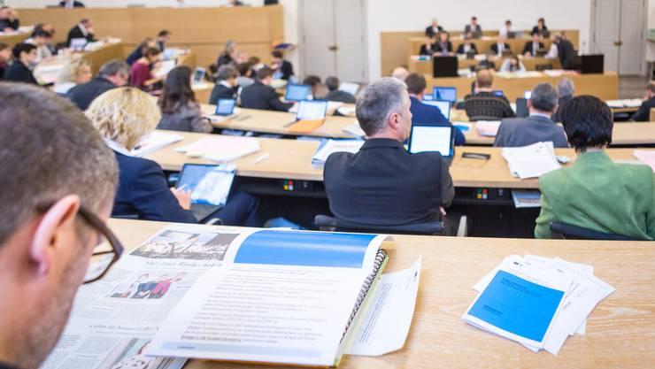 Start der Budgetdebatte im Aargauer Grossen Rat.