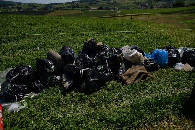 Es stinkt nach Müll und Fäkalien vor Ort