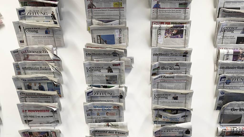 Bundesrat will Zeitungen und Online-Medien unterstützen