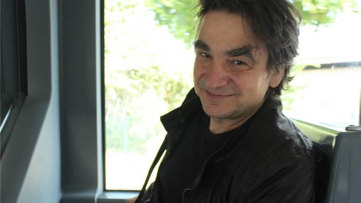 Mann mit Augenbrauen: Gilles Tschudi.