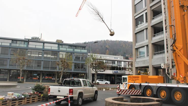 Vor kurzem wurde die Umgebungsgestaltung der Überbauung Huebegg beendet. 70 Prozent der 27 Wohnungen sind bereits vermietet.