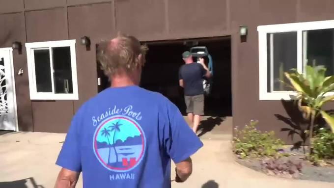 Schweizer auf Hawaii: Der Bauunternehmer auf Molokai