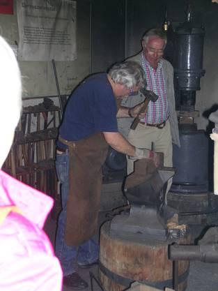 Ein Altes Handwerk gekonnt demonstriert