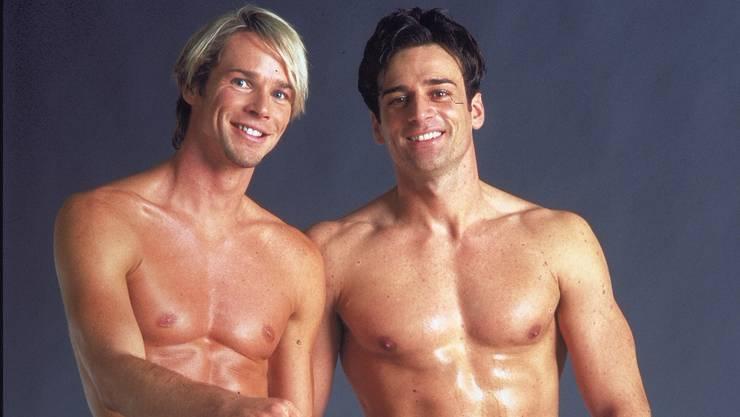 Er war Fitnesstrainer: Ex-Mister-Schweiz Robert Ismajlovic (rechts).