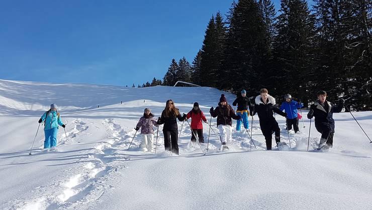 Herrliche Schneeschuh-Touren