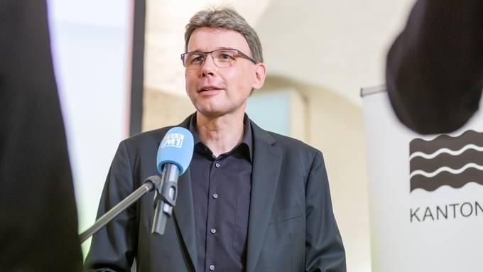 «Wir wollen den Betrieben so schnell wie möglich helfen.» Volkswirtschaftsdirektor Dieter Egli.