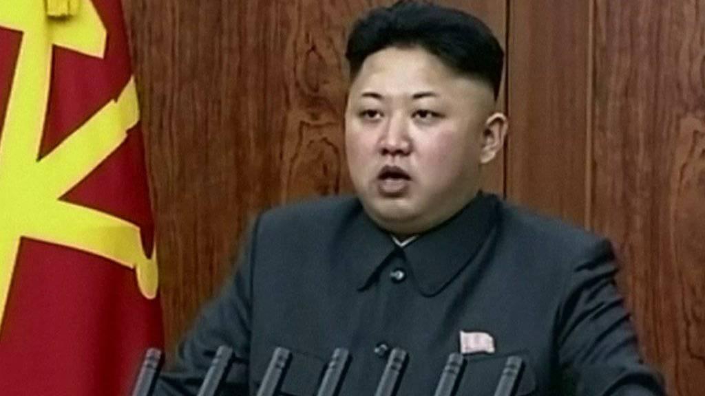 Das Regime des nordkoreanischen Machthabers Kim Jong Un provoziert mit dem Test einer Interkontinentalrakete. (Archivbild)