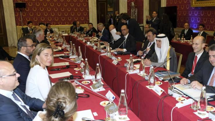 Die G7-Aussenminister berieten am Dienstagmorgen in einer Sondersitzung zum Syrien-Konflikt.