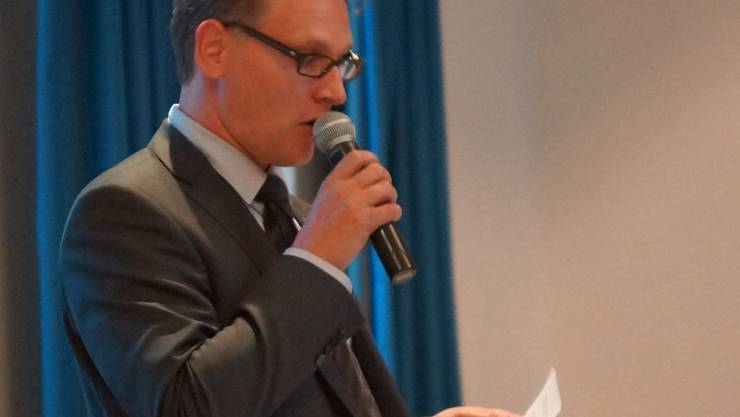 Thomas Geissmann, Fraktionspräsident der FDP. Kob/az-Archiv