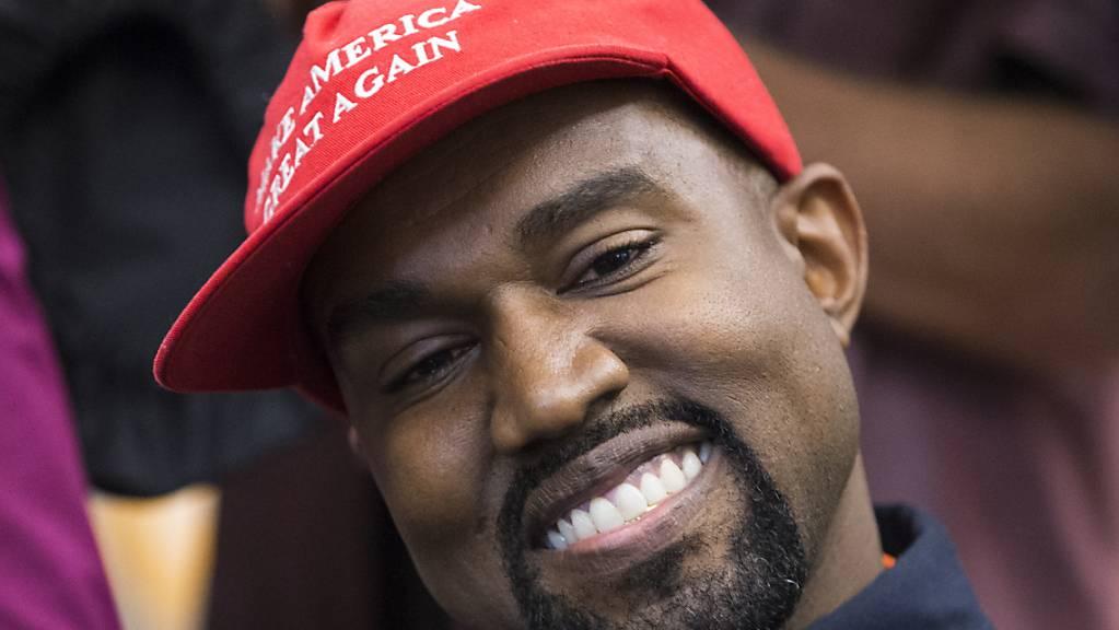 Will künftig nur noch «Ye» heissen: der US-Rapper Kanye Omari West. (Archivbild)