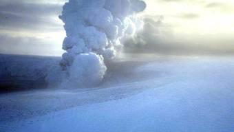 Der Vulkan Grimsvötn im Jahr 2004 (Archiv)