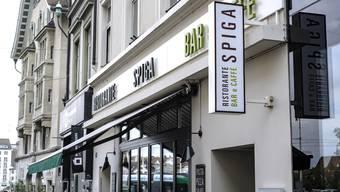 Eins der 196 Angebote: das Restaurant Spiga.