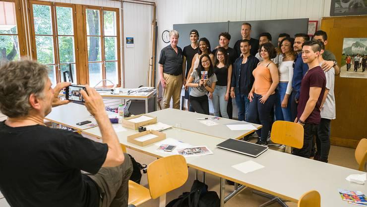 Marc Janko war vom Film «Neuland» über die Schicksale junger Migranten in Basel so beeindruckt, dass er die Protagonisten treffen wollte.