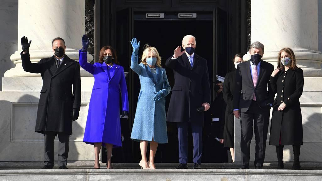 Joe Biden wird als neuer Präsident der USA vereidigt