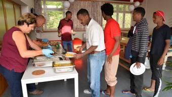 Die Asylsuchenden in der Fridau sollen künftig kein Catering mehr geliefert bekommen.
