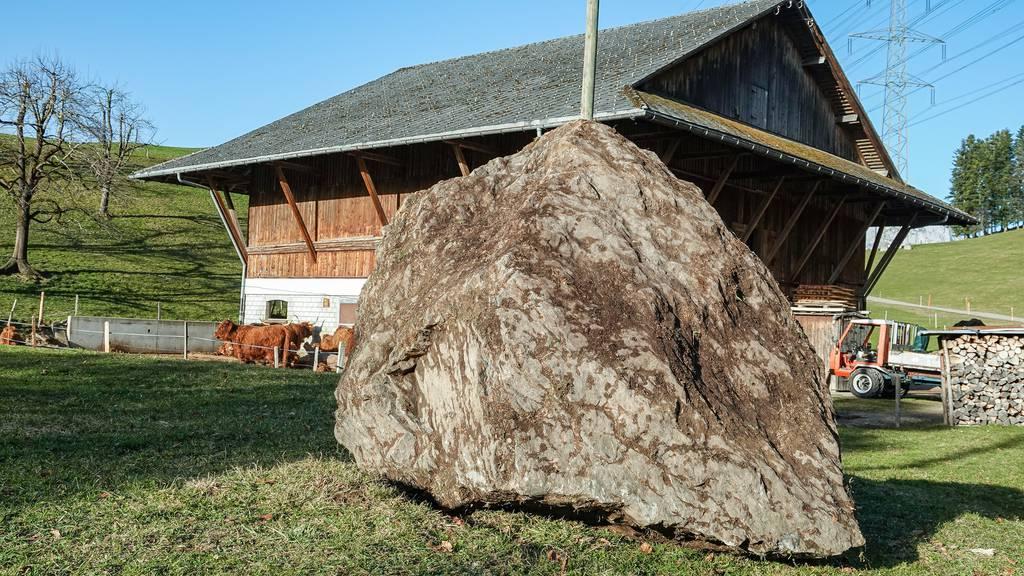 Felssturz am Fronalpstock (SZ): Tonnenschwere Felsbrocken donnern in Richtung Morschach