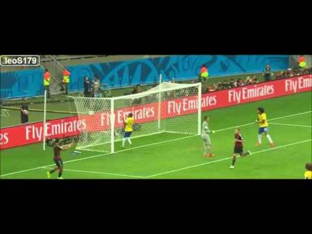 Brasiliens 1:7 Niederlage gegen Deutschland an der Heim-WM 2014