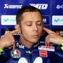Keine guten Aussichten: Valentino Rossi startet in Aragonien nur von Platz 18 aus