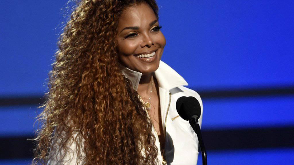 Die US-Sängerin Janet Jackson, 50-jährig, ist seit Oktober schwanger und fühlt sich gut (Archiv)