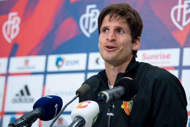 Freut sich über die späte Rückkehr zum FCB: Timm Klose.