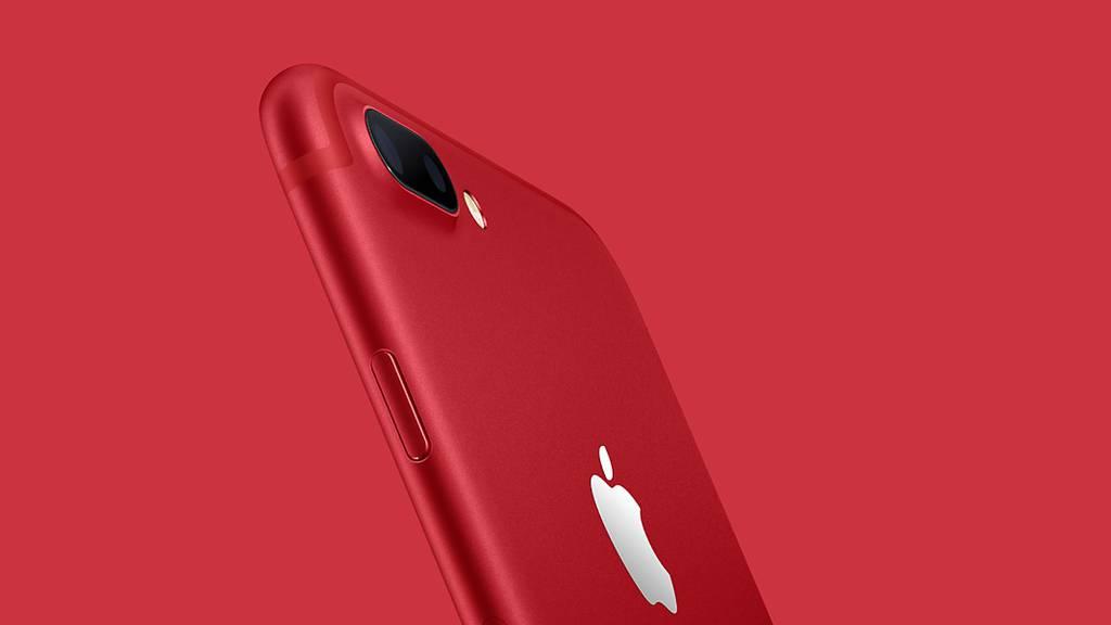 Vernetzt: Rotes Spezial-iPhone und ein neues iPad