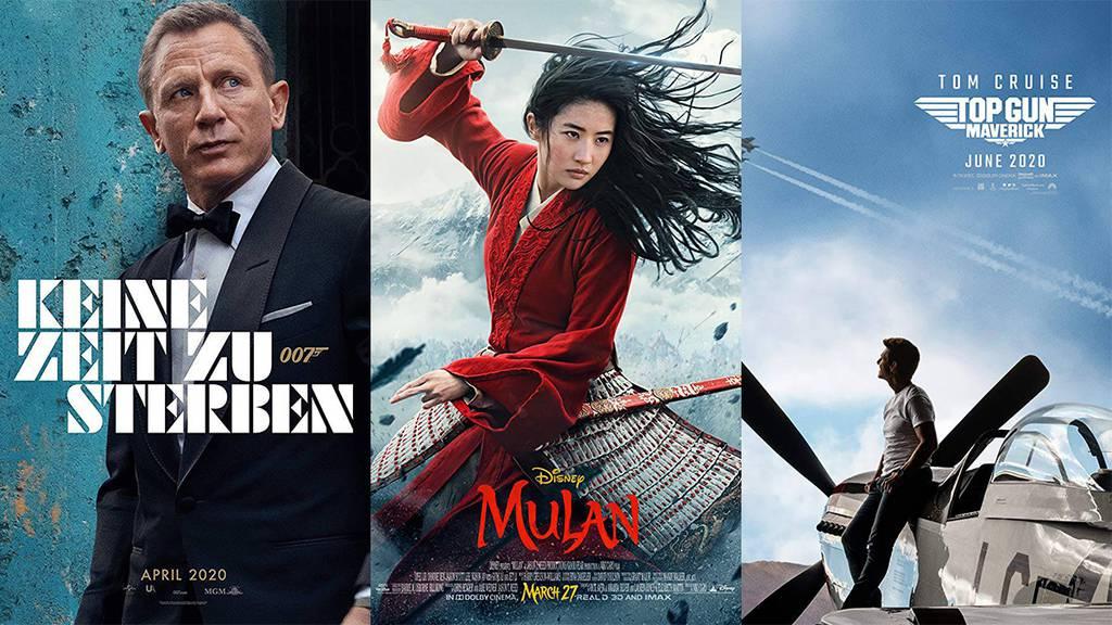 Diese Kino-Kracher lässt Hollywood 2020 auf uns los