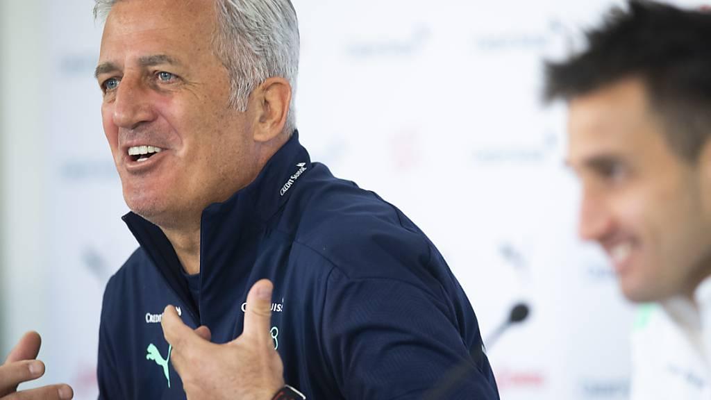 Der Schweizer Nationaltrainer Vladimir Petkovic ist im Hinblick auf die EM zuversichtlich