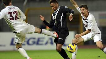 Rafael Da Silva (Mitte) erzielte das 2:0 für Lugano per Penalty.