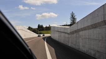 Bei der Solothurner Westumfahrung muss einiges ausgebessert werden. (Archiv)