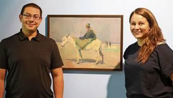 Kurator Tyrone Richards und Museumsleiterin Patrizia Solombrino freuen sich auf die Vernissage am Freitag.