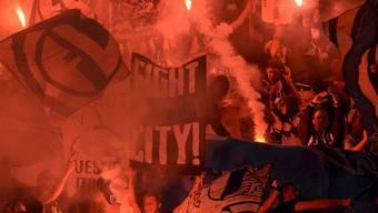 Randalierer wüteten beim Spiel zwischen dem FCZ und Luzern im vergangegen Mai.