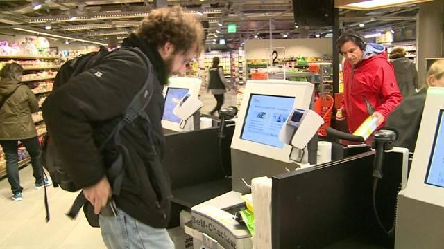Wie beliebt sind Self-Checkout-Kassen?