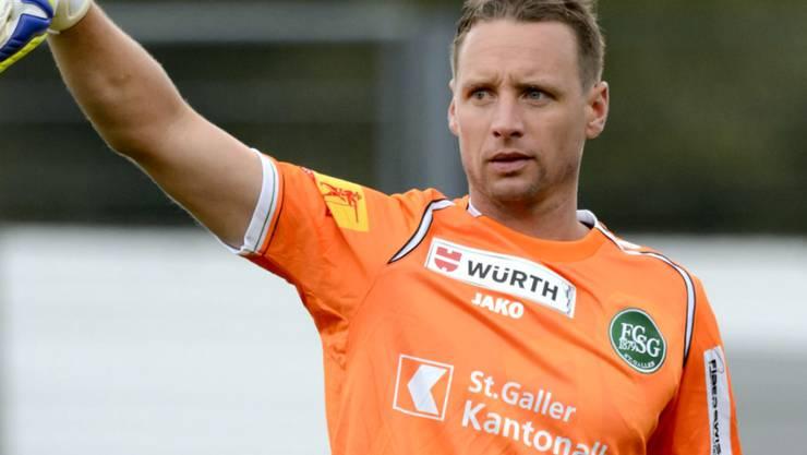 Goalie Marcel Herzog verlässt den FC St. Gallen